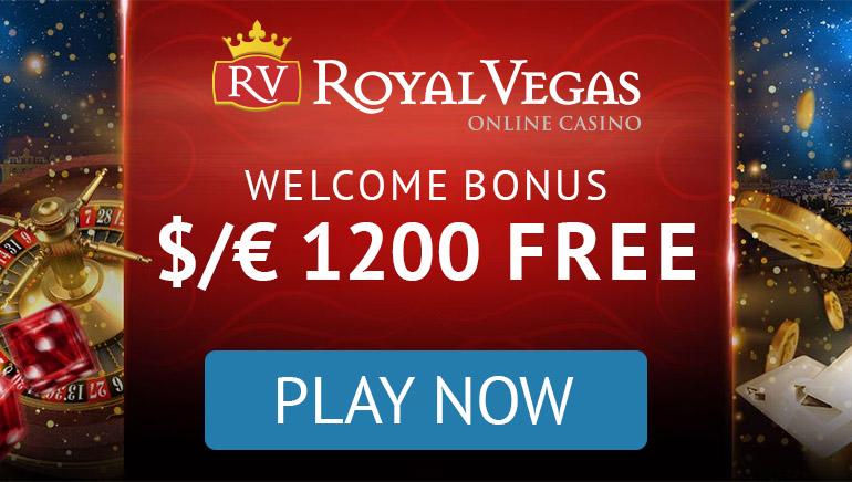 Royal Vegas Casino - BONUS PAKET €1200